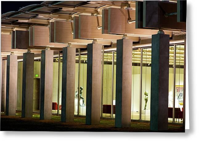Renzo Piano Building Kimball Museum Greeting Card