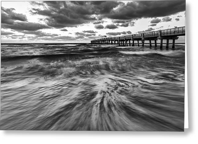 Repeated Morning II Greeting Card by Jon Glaser