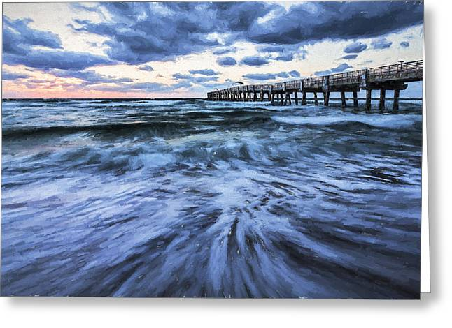 Repeated Morning IIi Greeting Card by Jon Glaser