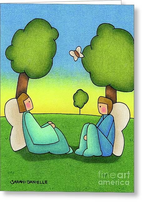 Repose Greeting Card by Sarah Batalka