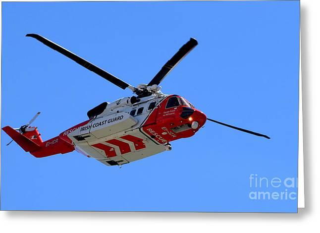 Rescue 117 Greeting Card by Joe Cashin