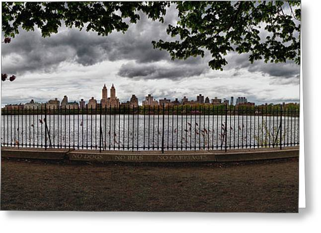 Reservoir Panorama Greeting Card