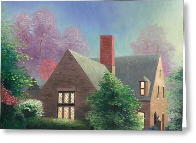 Residential Portrait Greeting Card by Joe Winkler