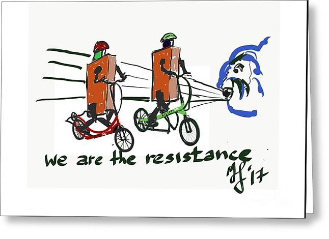 Resistance Greeting Card
