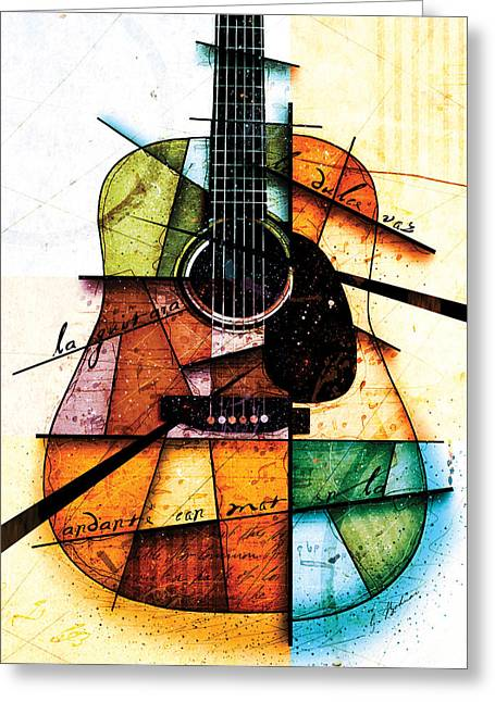 Resonancia En Colores Greeting Card by Gary Bodnar