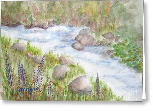 Rest By My Waters Greeting Card
