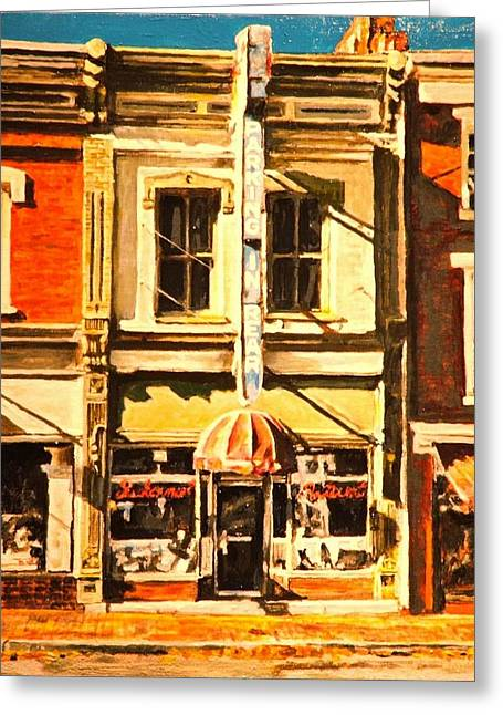 Restaurant II Greeting Card by Thomas Akers