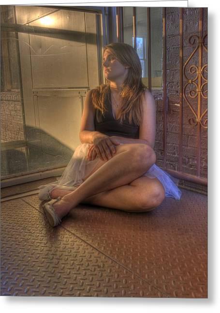 Resting Dancer Greeting Card by JoeMyDodd JMD