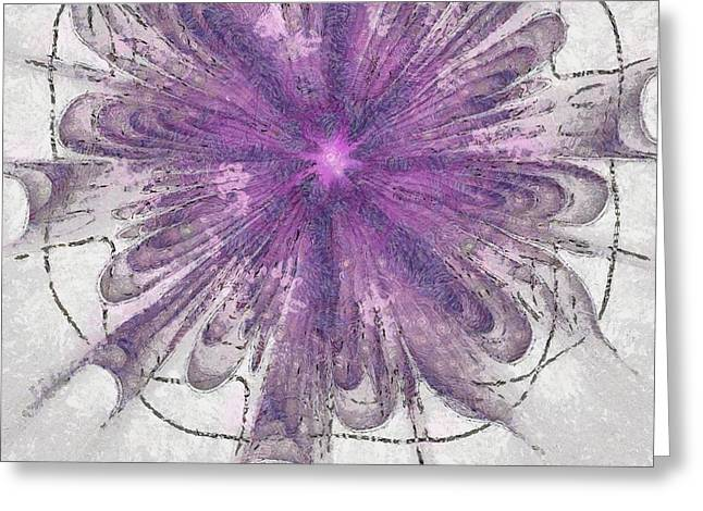 Retainership Beauty Flower  Id 16163-133327-22920 Greeting Card by S Lurk