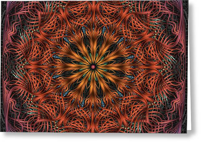 Reticulation Greeting Card by Becky Titus