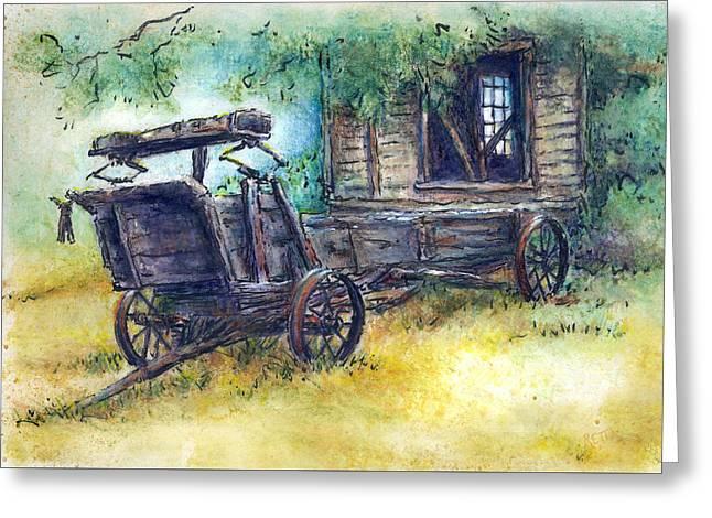 Retired At Last Greeting Card by Retta Stephenson