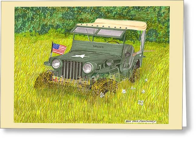 Retired But Still Ready Greeting Card