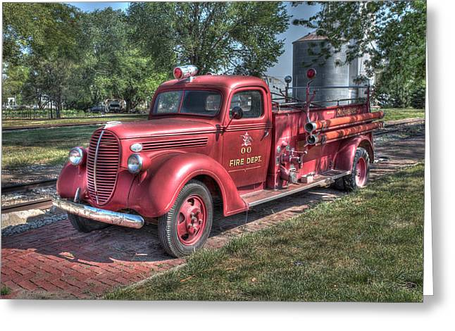 Retired Fire Chaser Greeting Card