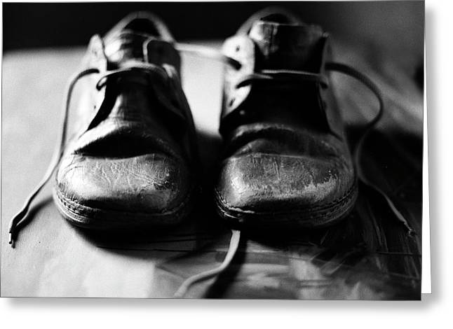 Retired Old Shoes Greeting Card
