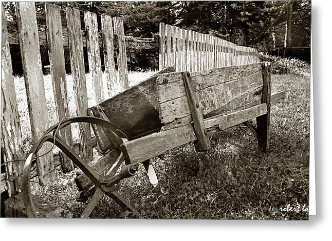 Retired Greeting Card by Robert Lacy