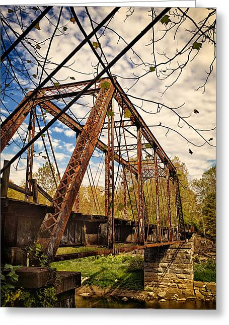 Retired Trestle Greeting Card