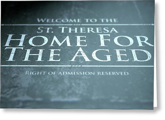 Retirement Home Signage Greeting Card