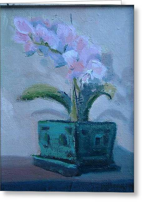Retirement Orchid...sold Greeting Card by Bryan Alexander