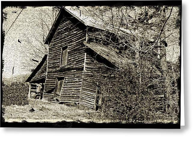 Greeting Card featuring the photograph Retro Barn by Larry Bishop