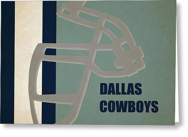 Retro Cowboys Art Greeting Card by Joe Hamilton