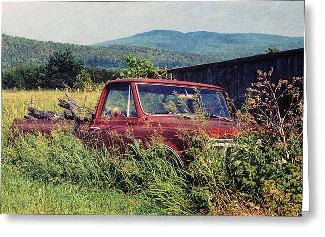 Retro Ford Greeting Card by JAMART Photography