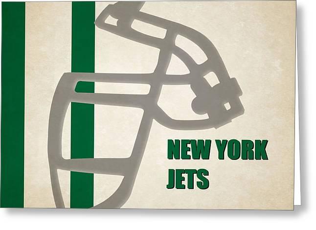 Retro Jets Art Greeting Card