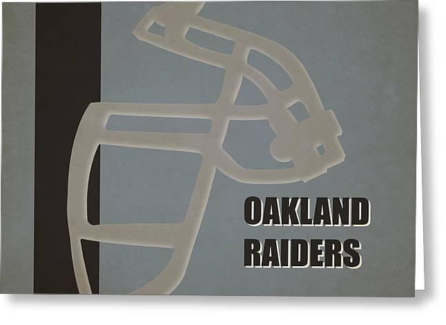 Retro Raiders Art Greeting Card