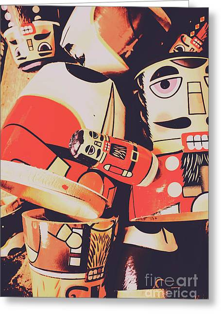 Retro Toy Memories Greeting Card by Jorgo Photography - Wall Art Gallery