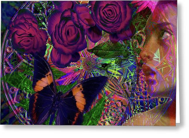 Return Of Paradise Glass Greeting Card