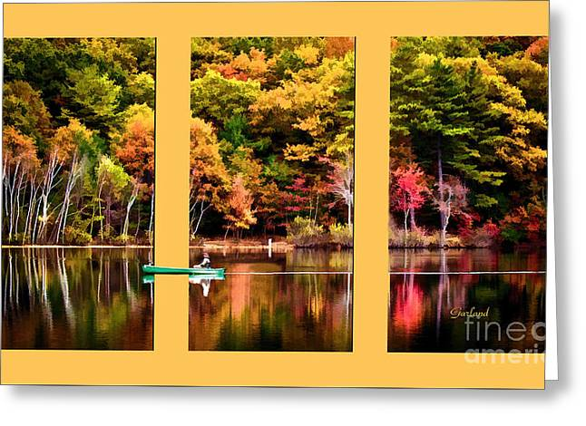 Return To Lake Transition  Greeting Card by Garland Johnson