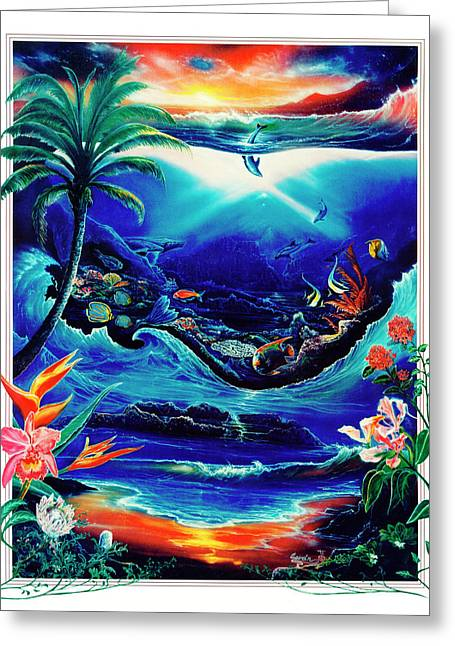 Return To Paradise Greeting Card by Sevan Thometz