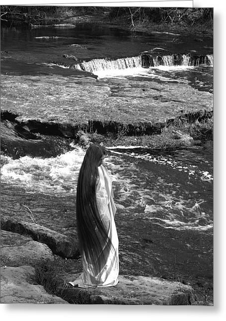 Return To The Falls Greeting Card by Debbie May