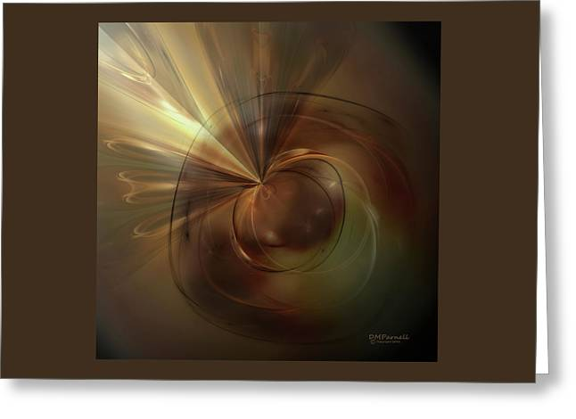 Return To The Light Greeting Card by Diane Parnell