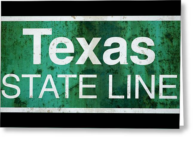 Returning Home To Texas . . . Greeting Card