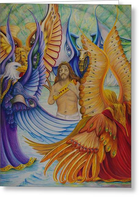 Revelation Five Greeting Card
