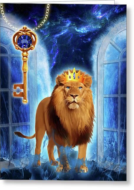 Revelation Gate Greeting Card