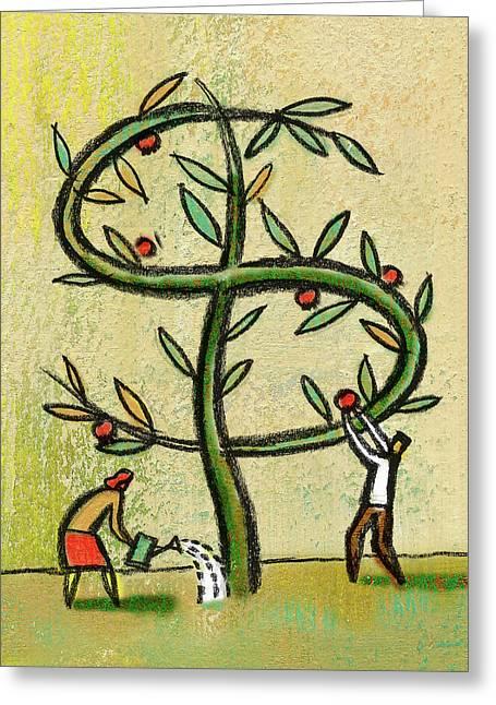 Revenue Greeting Card by Leon Zernitsky