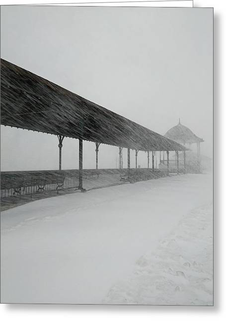 Revere Beach Nor'easter -jan 4,2018 Greeting Card