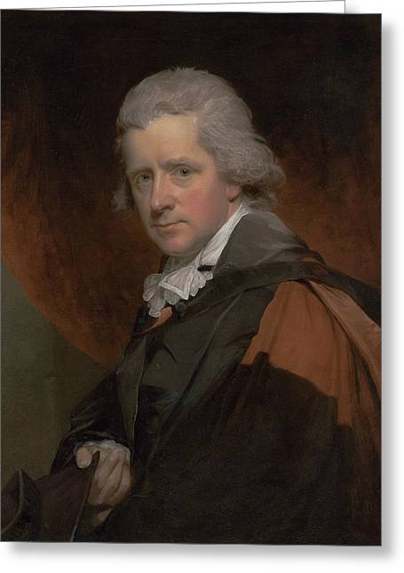 Reverend Dr. Charles Symmons Greeting Card by William Beechey