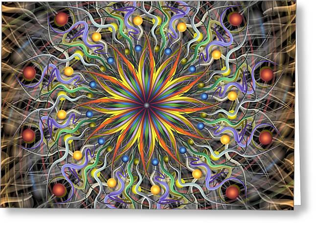 Reverse Cosmosis Greeting Card