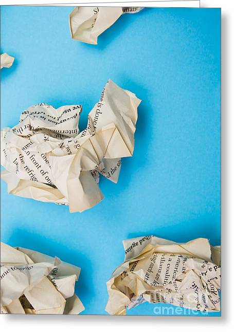 Rewriting The Pages Of History Greeting Card