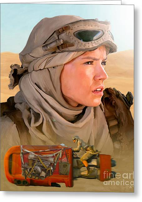 Rey Greeting Card