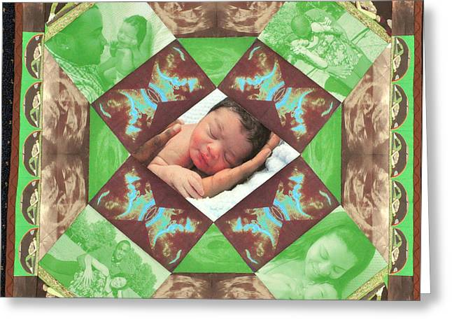 Reynard Quilt Greeting Card