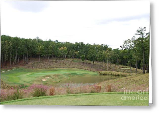 Reynolds Plantation Golf Ga Usa Greeting Card