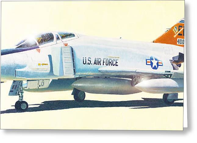 Rf-4c Phantom II Greeting Card by Douglas Castleman