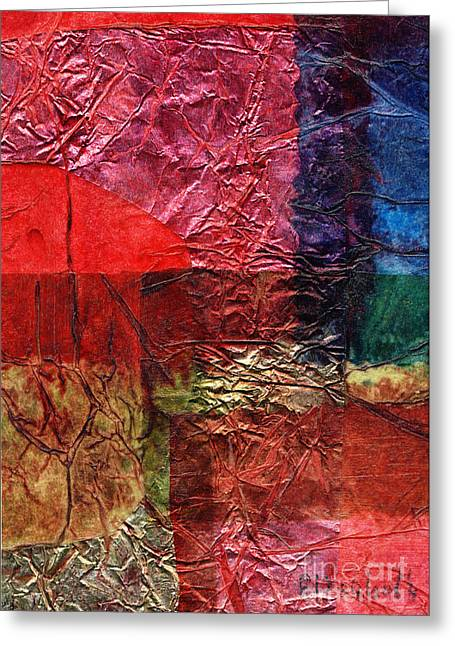 Rhapsody Of Colors 18 Greeting Card