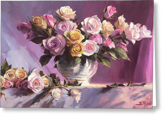 Rhapsody Of Roses Greeting Card