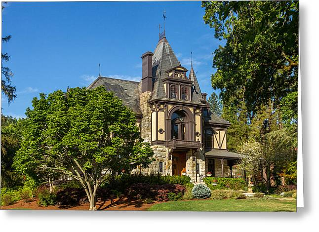 Rhine House At Beringer Estates Greeting Card by Bill Gallagher