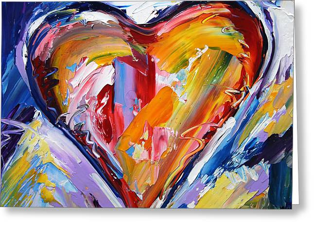 Rhythm Of Love  Greeting Card