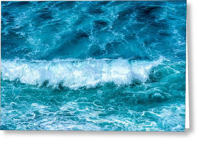 Greeting Card featuring the photograph Rhythm Of Waves by Marion McCristall